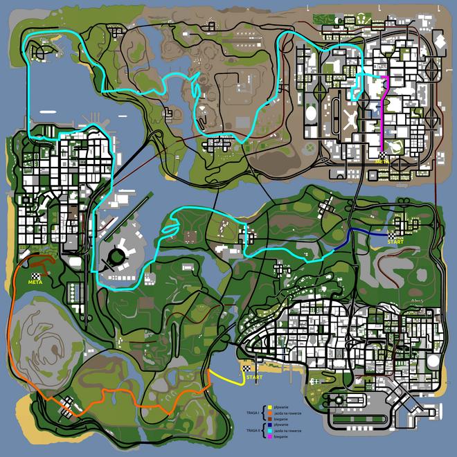 Triathlon (SA - mapa)
