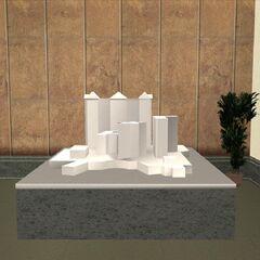 نموذج مصغر للكازينو.
