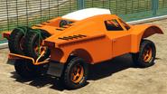 Desert Raid vue derrière GTA Online