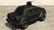Insurgent armé vue arrière GTAO
