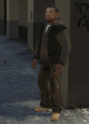 Clarence Little GTA IV (rencontre aléatoire)