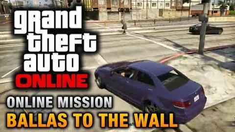 GTA Online - Mission - Ballas to the Wall Hard Difficulty