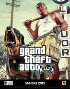 Franklin GTA V (affiche)