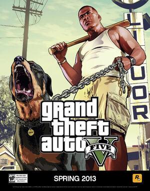 Franklin GTA V (affiche)