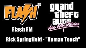 "GTA Vice City Stories - Flash FM Rick Springfield - ""Human Touch"""