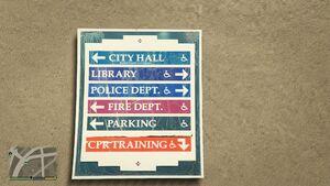 Rockford Hills Municipal Buildings GTAVe Signage