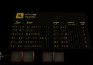 FIA arrivalsboard