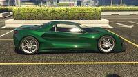 Itali GTB Custom GTA Online (côté droit)