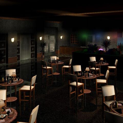 الردهة ومنطقة تناول الطعام في الفندق، جي تي أي فايس سيتي.