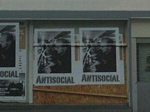Antisocial Banner