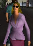 Mrs Dawson pedestrian model