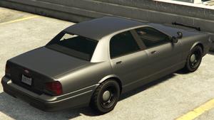 Stanier banalisée GTA V (vue arrière)