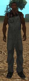 Wiejskie ubranie (SA)