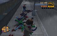 GTA III Claude look the dead Diablos