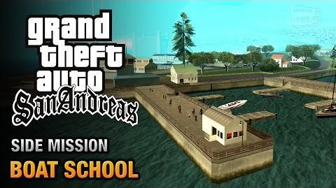 GTA San Andreas - Boat School