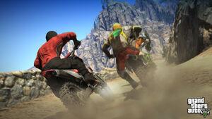Motorcycles-GTAV
