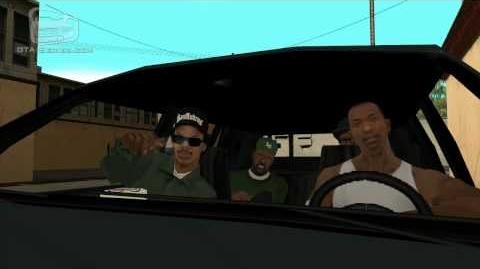 GTA San Andreas - Walkthrough - Mission -5 - Drive-thru (HD)