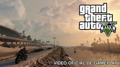 Grand Theft Auto V Vídeo oficial de gameplay