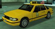 Taxi vue avant GTALCS