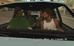 Drive-By GTA San Andreas (consigne)
