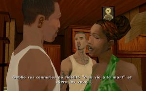 Roi en exil GTA San Andreas (trahison)