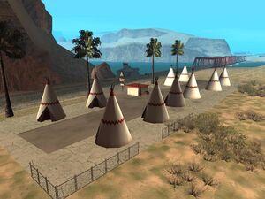 Tee Pee Motel Valle Ocultado