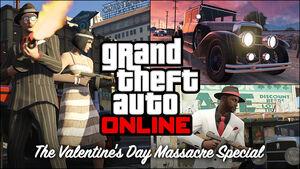 Massacre de la Saint-Valentin GTA V (image promotionnelle)