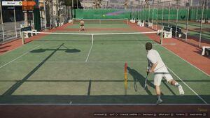 Tennis Gameplay2-GTAV