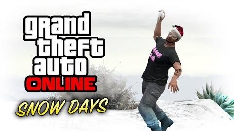 GTA Online - Snow Days & Snowball Fights (Festive Surprise DLC)