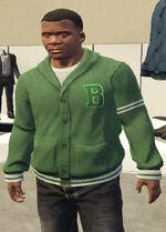 Ponsonbys (V - Zielony cardigan)