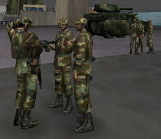 Military soldiers (GTAVC)