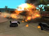 Zamieszki w Los Santos