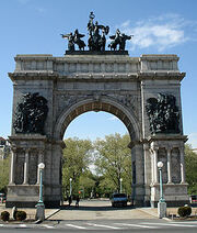 250px-The Soldiers and Sailors Memorial Arch at Grand Army Plaza