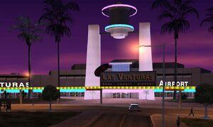 Las Venturas Airport GTA San Andreas (entrée)