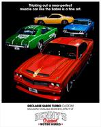 Sabre Turbo Custom affiche publicitaire