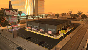 Centrum handlowe w Temple i Redsands East (SA)