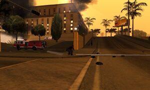 Los santos hospital burn