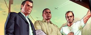 Protagonistes - IGN - GTAV