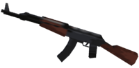 GTA III AK47
