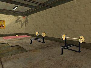 Below the Belt Gym GTA San Andreas (ateliers)