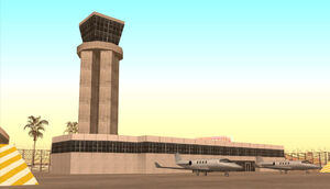 Las Venturas Airport GTA San Andreas (tour de contrôle)