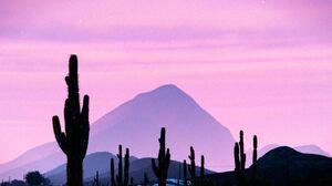 Sunset in Grand Senora Desert