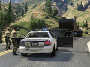 Sheriffs contre bandits