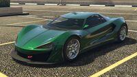 Itali GTB Custom GTA Online (côté avant gauche)