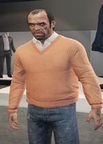 Ponsonbys (V - Ciemnopomarańczowy sweter)