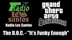 GTA San Andreas - Radio Los Santos The D.O.C