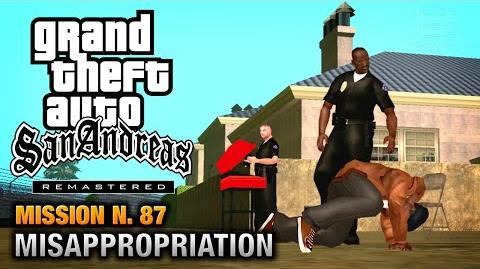 GTA San Andreas Remastered - Mission 87 - Misappropriation (Xbox 360 PS3)