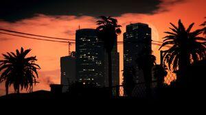 Sunset in Pillbox Hill