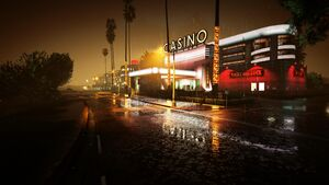 Casino de Vinewood GTA V (nuit)