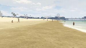 Del Perro Beach-X